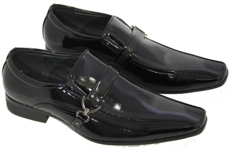 see buy smile s shiny black patent leather